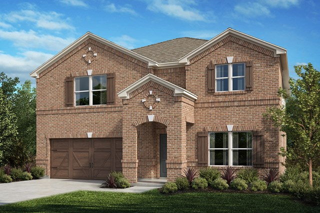 New Homes in Celina, TX - Plan 2803 Elevation A
