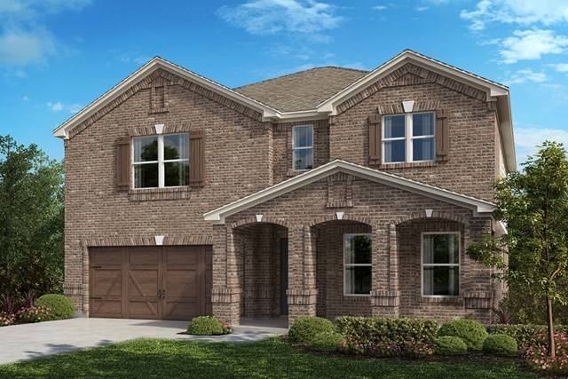 New Homes in Celina, TX - Plan 2803 Elevation B