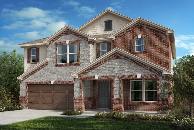 New Homes in Celina, TX - Plan 2803 Elevation C