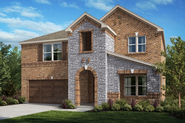 New Homes in Celina, TX - Plan 2803 Elevation D
