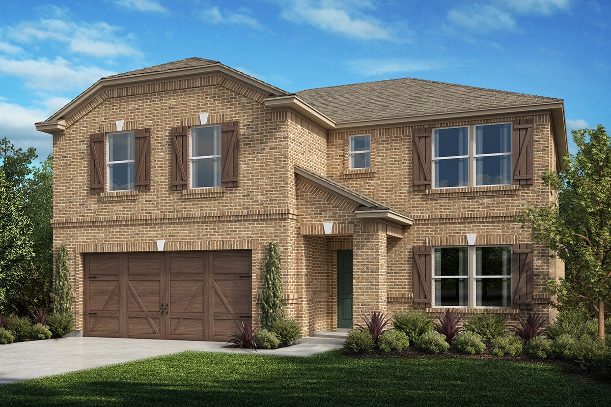 New Homes in Celina, TX - Creeks of Legacy Plan 2981 Elevation A