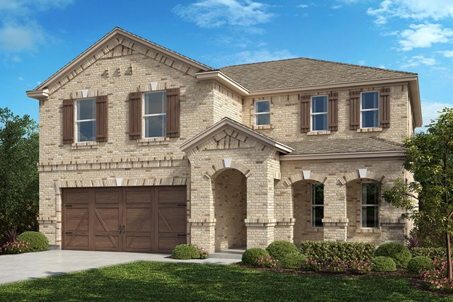 New Homes in Celina, TX - Plan 2981 Elevation B