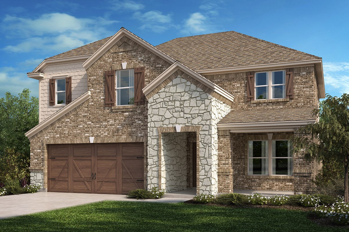New Homes in Celina, TX - Creeks of Legacy Plan 2981 Elevation C