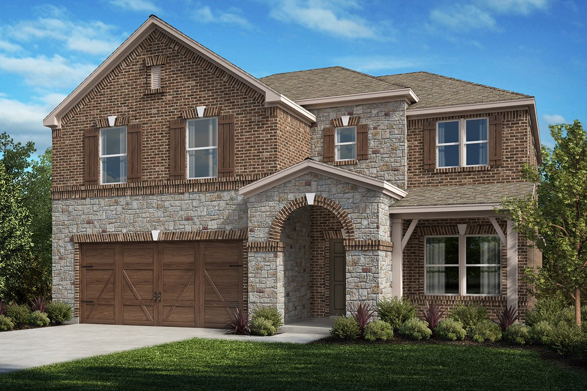 New Homes in Celina, TX - Creeks of Legacy Plan 2981 Elevation D