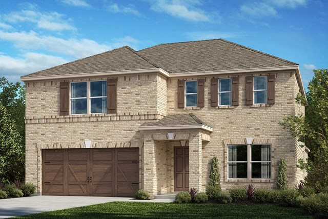 New Homes in Celina, TX - Plan 3420 Elevation A