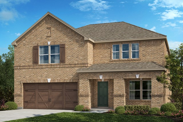 New Homes in Celina, TX - Plan 3420 Elevation B