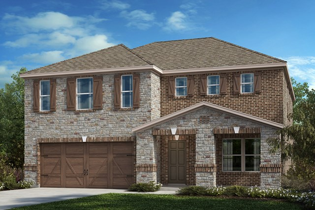 New Homes in Celina, TX - Plan 3420 Elevation C