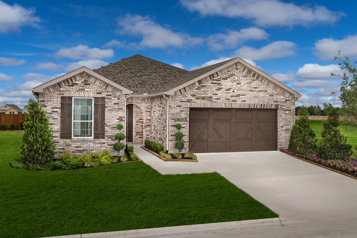 New Homes in Celina, TX - Creeks of Legacy Plan 1813