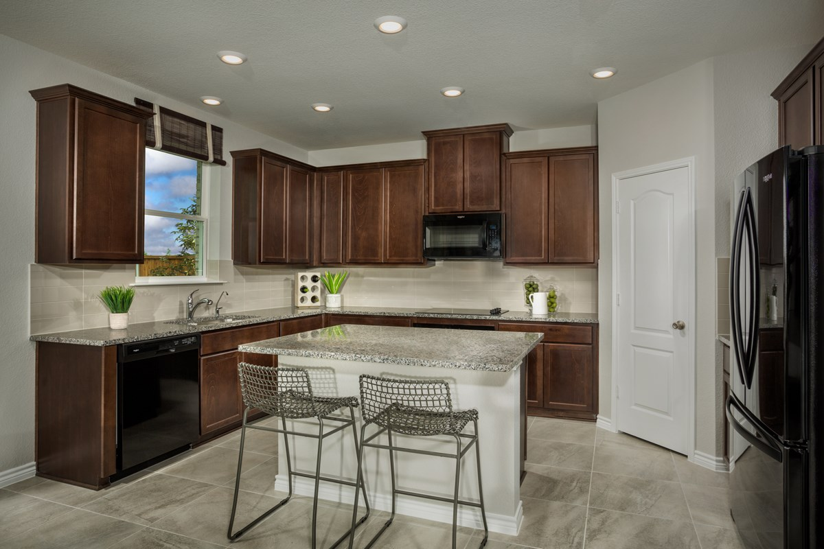New Homes in Celina, TX - Creeks of Legacy Plan 1813 Kitchen