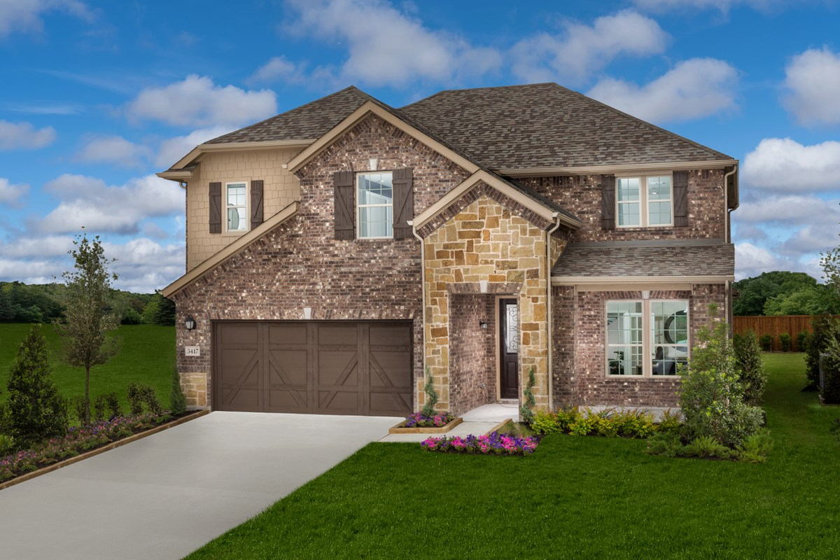 New Homes in Celina, TX - Creeks of Legacy Plan 2981