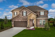 New Homes in Celina, TX - Plan 2981 Modeled