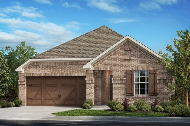 New Homes in Frisco, TX - Plan 1647 Elevation A