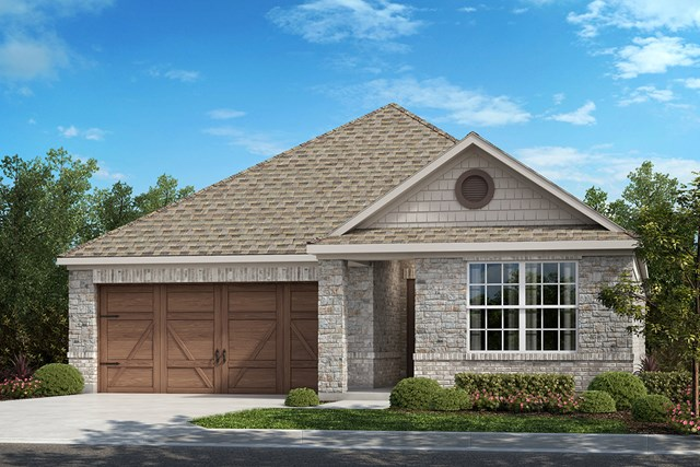 New Homes in Frisco, TX - Plan 1647 Elevation B