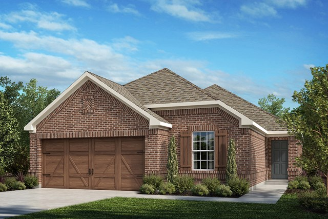 New Homes in Frisco, TX - Plan 1694 Elevation A