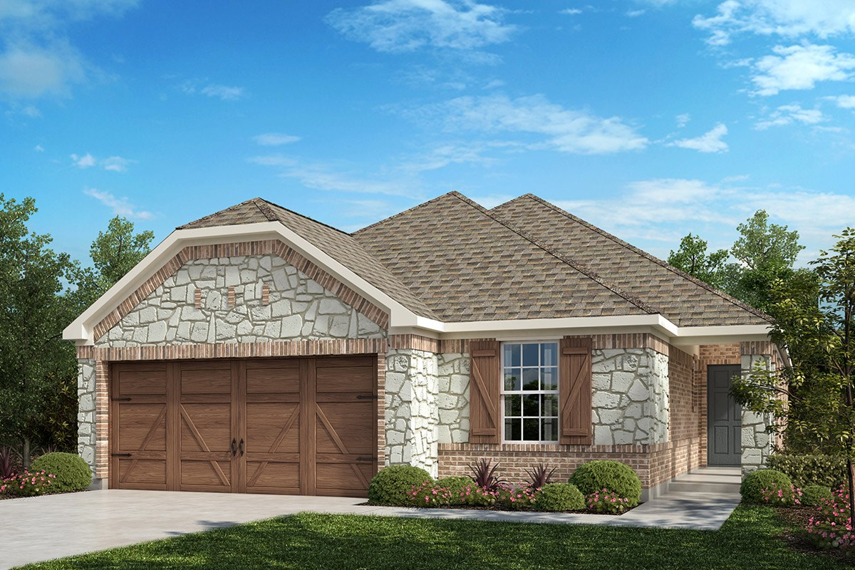 New Homes in Frisco, TX - Creeks on Hickory Plan 1694 B