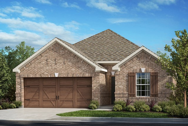 New Homes in Allen, TX - Plan 1855 Elevation A