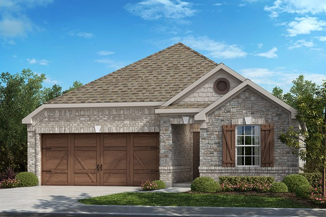 New Homes in Allen, TX - Plan 1855 Elevation B