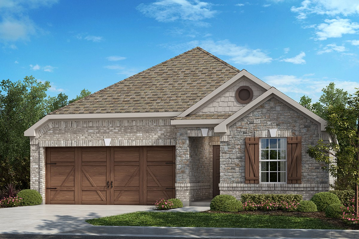 New Homes in Frisco, TX - Creeks on Hickory Plan 1855 B
