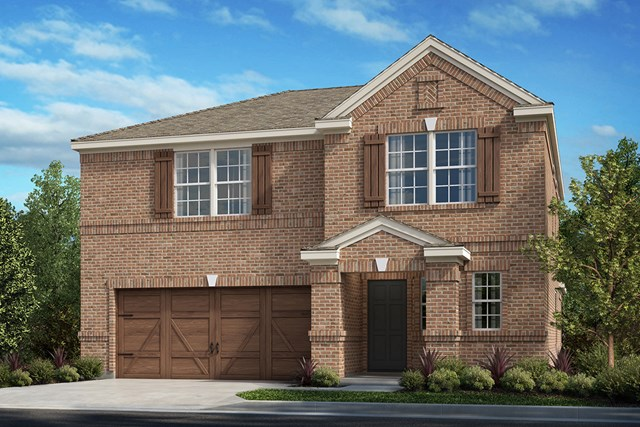 New Homes in Frisco, TX - Plan 2414 Elevation A