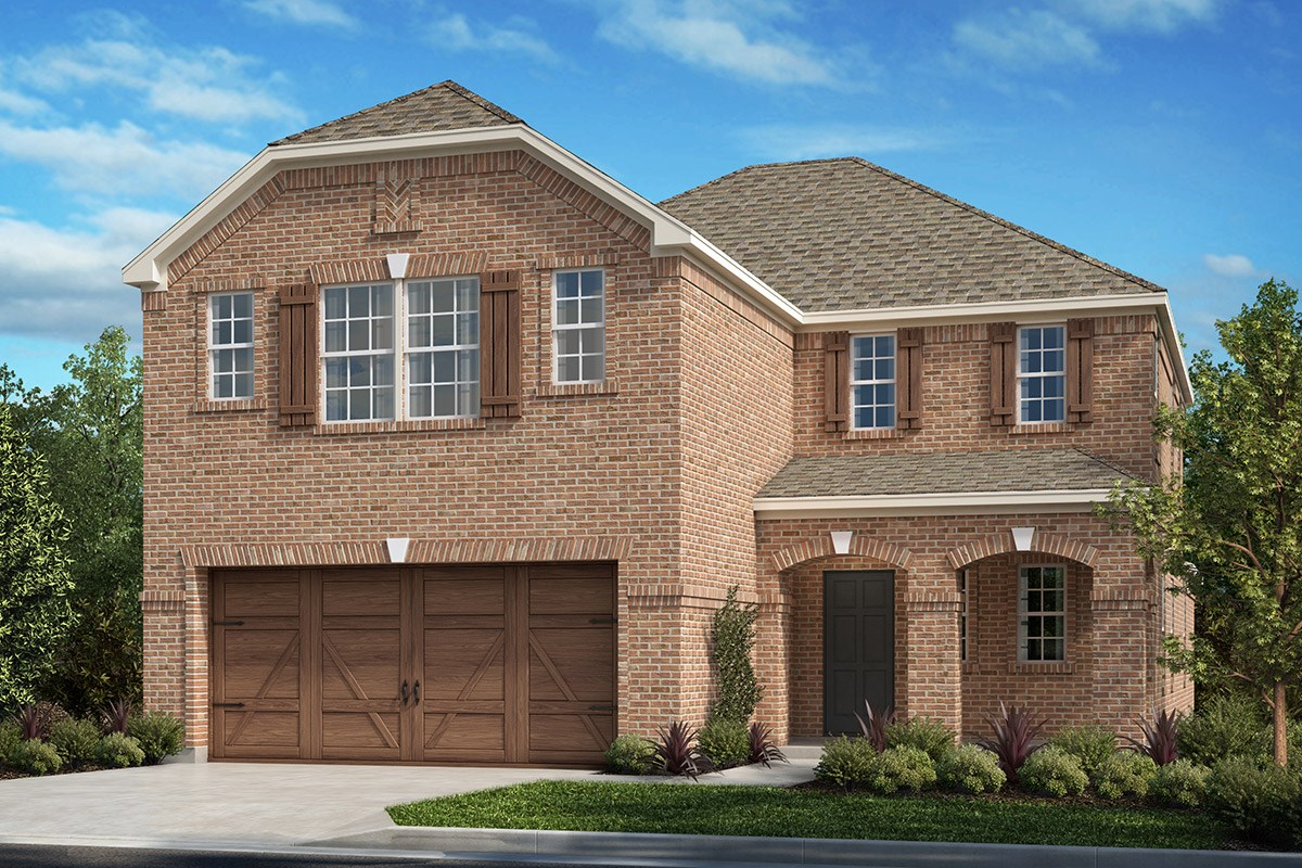 New Homes in Frisco, TX - Creeks on Hickory Plan 2675 A