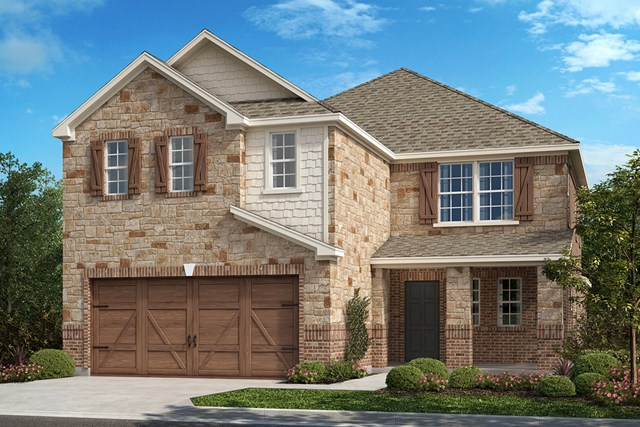 New Homes in Frisco, TX - Plan 2675 Elevation B