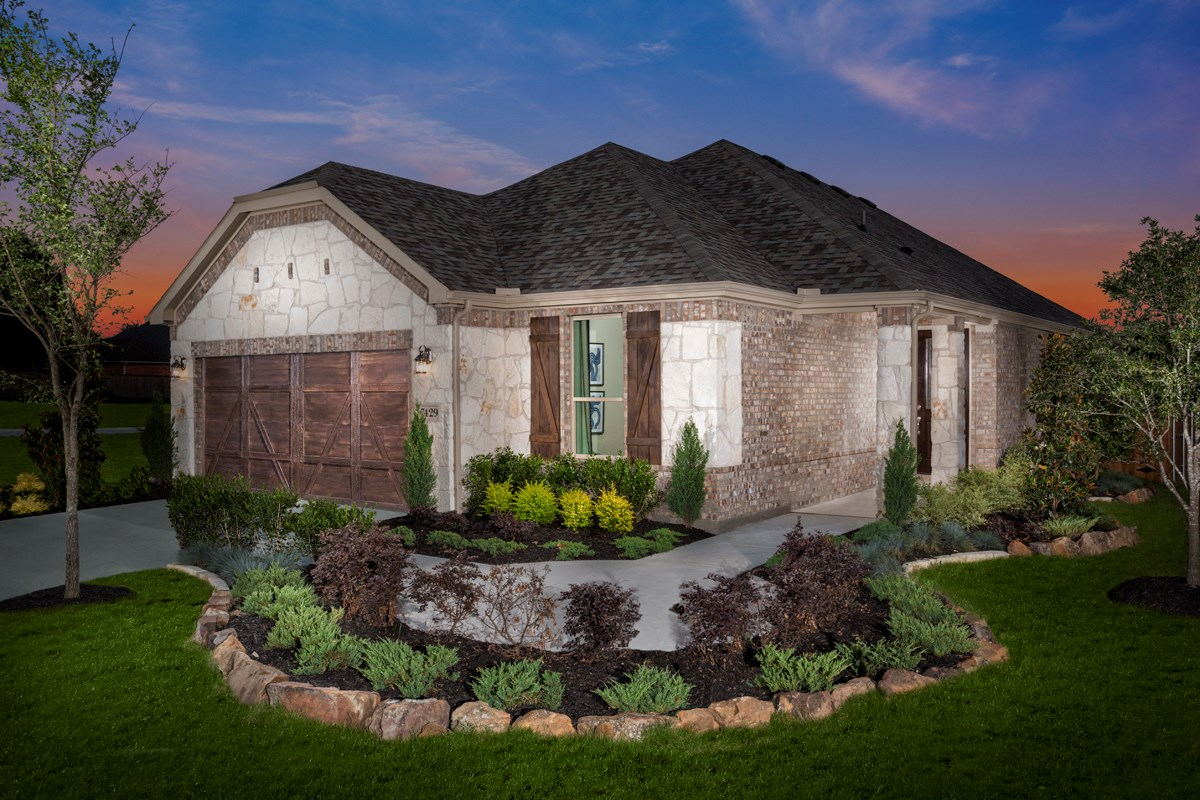 New Homes in Frisco, TX - Creeks on Hickory Plan 1694