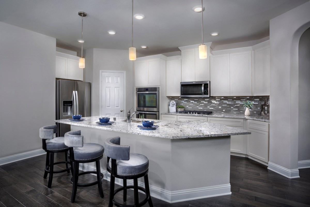 New Homes in Frisco, TX - Creeks on Hickory Plan 1694 Kitchen