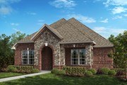 New Homes in Frisco, TX - Plan 1833 Modeled