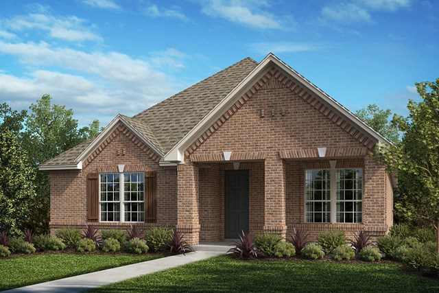 New Homes in Frisco, TX - Plan 2217 Elevation A