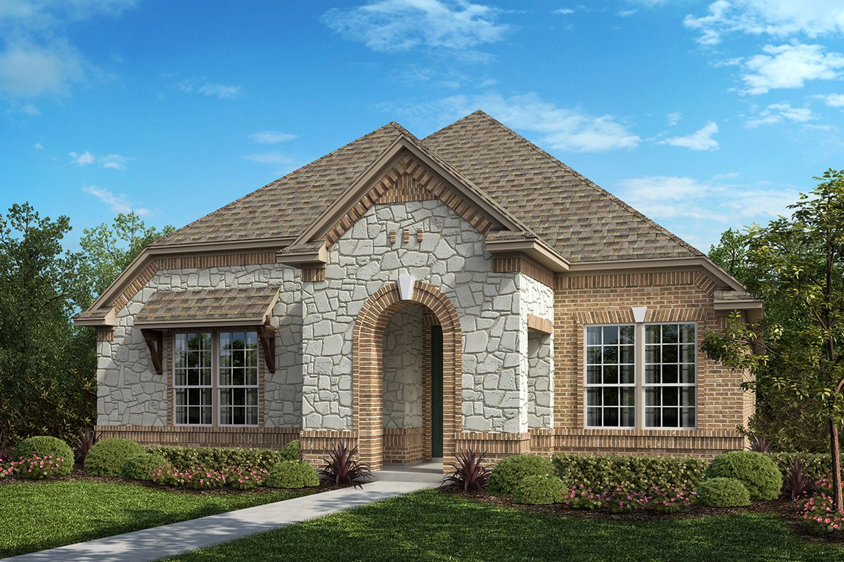 New Homes in Frisco, TX - Retreat at Stonebriar Plan 2217 Elevation B