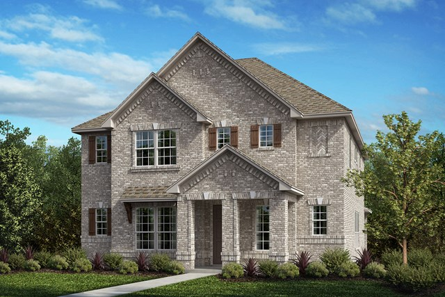 New Homes in Frisco, TX - Plan 2820 Elevation A