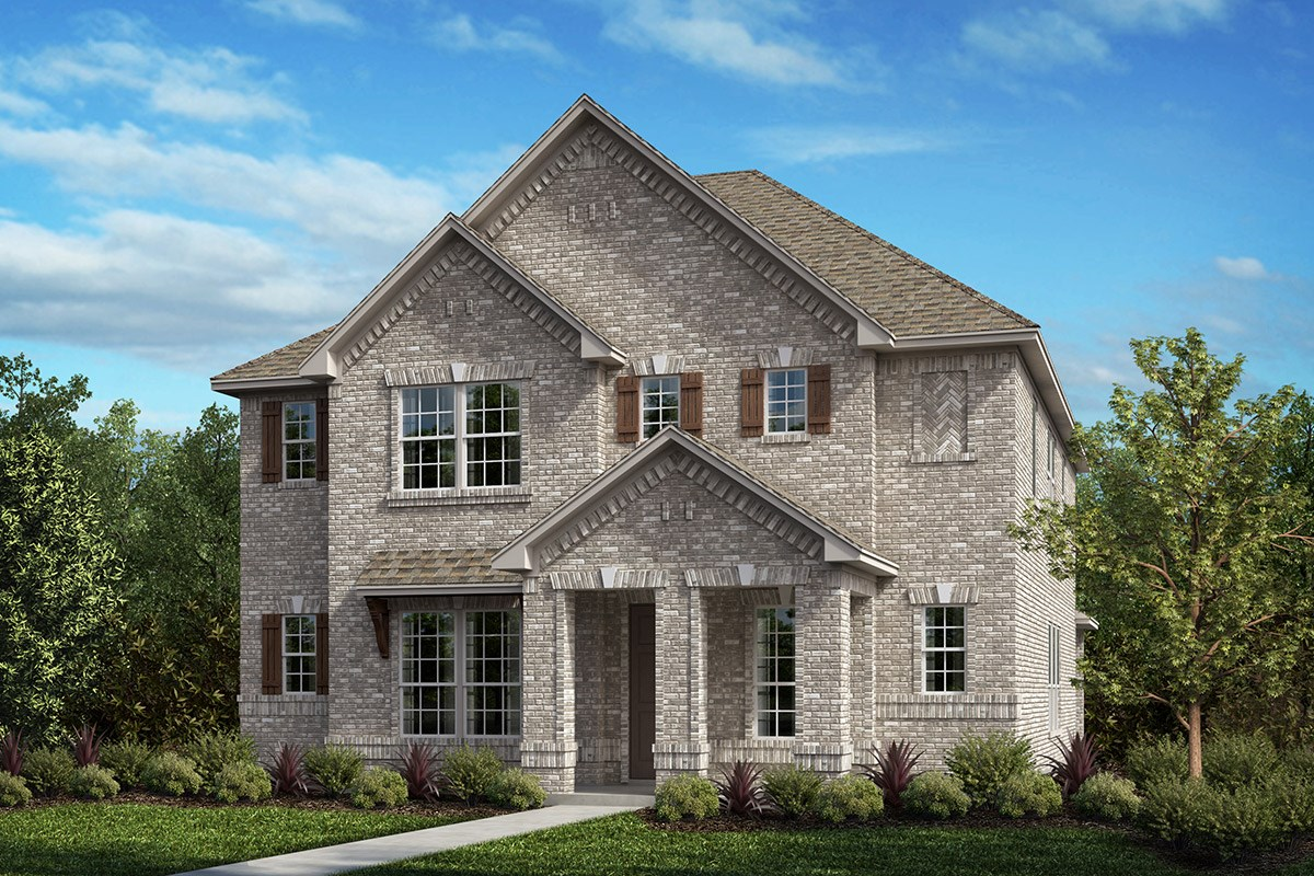 New Homes in Frisco, TX - Retreat at Stonebriar Plan 2820 Elevation A