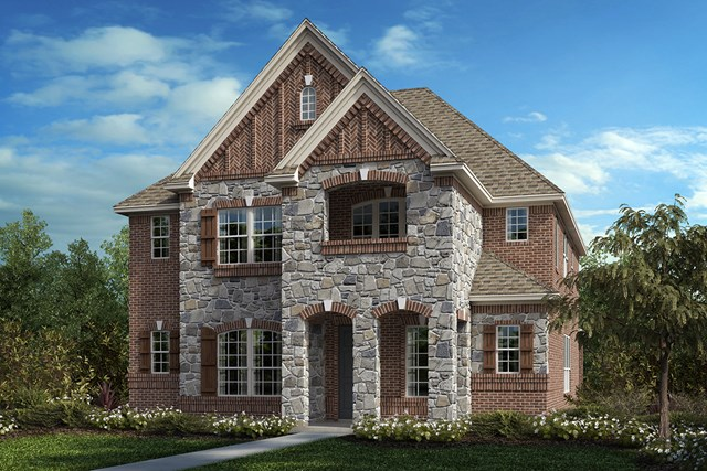 New Homes in Frisco, TX - Plan 2820 Elevation C