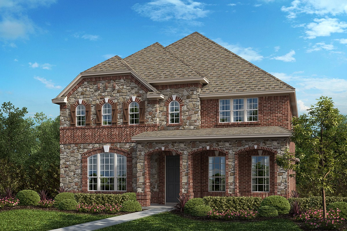 New Homes in Frisco, TX - Retreat at Stonebriar Plan 3149 Elevation B