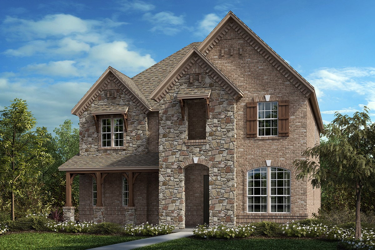 New Homes in Frisco, TX - Retreat at Stonebriar Plan 3301 Elevation C