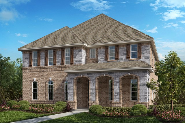 New Homes in Frisco, TX - Plan 3381 Elevation B