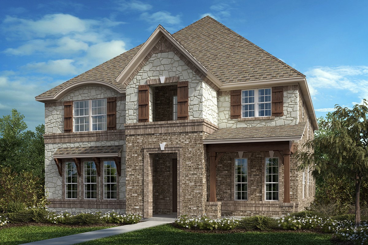 New Homes in Frisco, TX - Retreat at Stonebriar Plan 3381 Elevation C