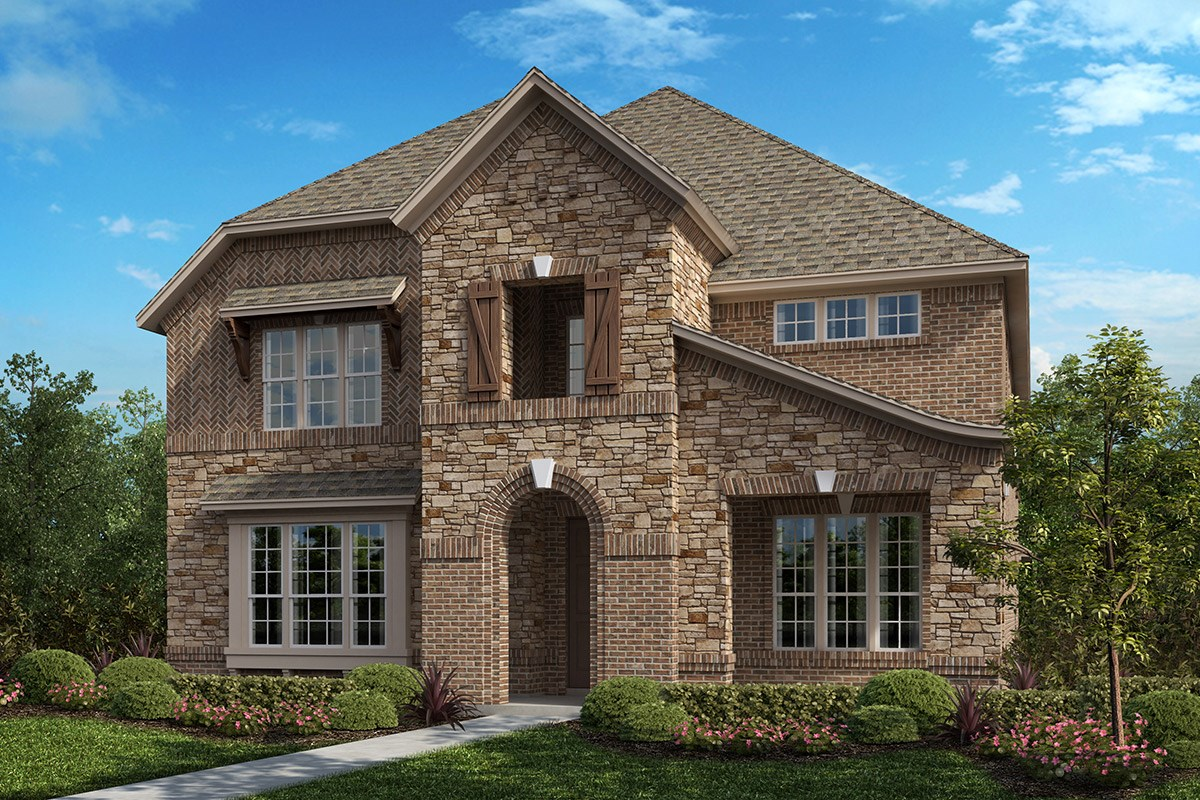 New Homes in Frisco, TX - Retreat at Stonebriar Plan 3799 Elevation B