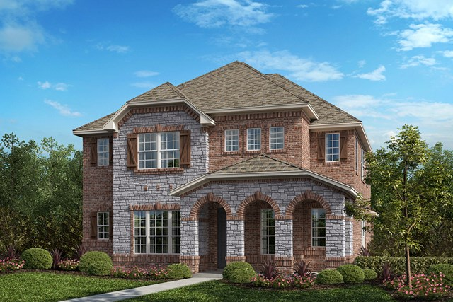 New Homes in Frisco, TX - Plan 2820 Elevation B