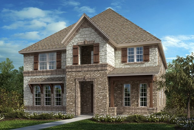 New Homes in Frisco, TX - Plan 3381 Elevation C