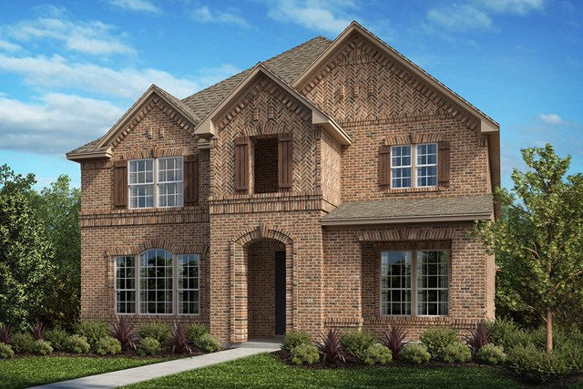 New Homes in Frisco, TX - Plan 3799 Elevation A