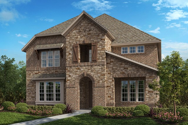 New Homes in Frisco, TX - Plan 3799 Elevation B