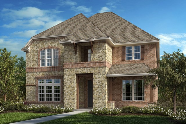 New Homes in Frisco, TX - Plan 3799 Elevation C