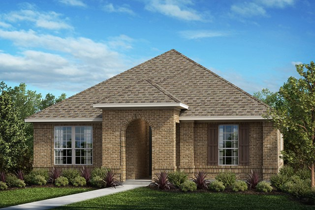 New Homes in Frisco, TX - Elevation A