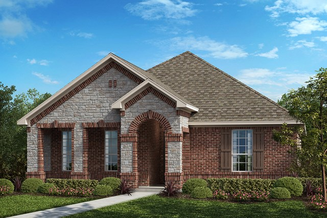 New Homes in Frisco, TX - Elevation B