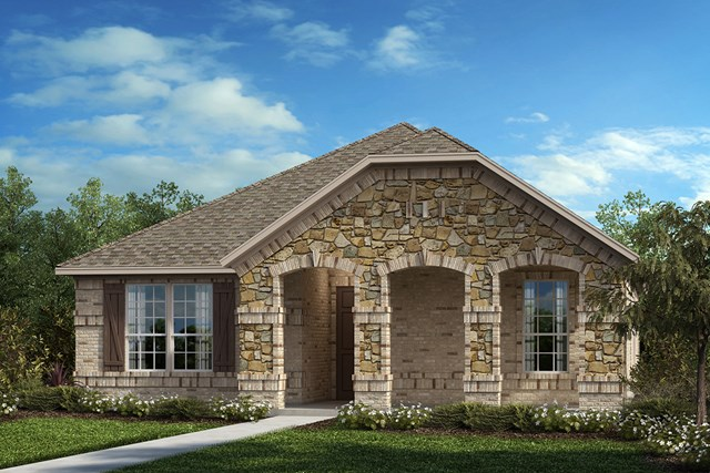 New Homes in Frisco, TX - Elevation C