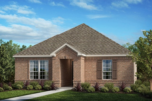 New Homes in Frisco, TX - Elevation D
