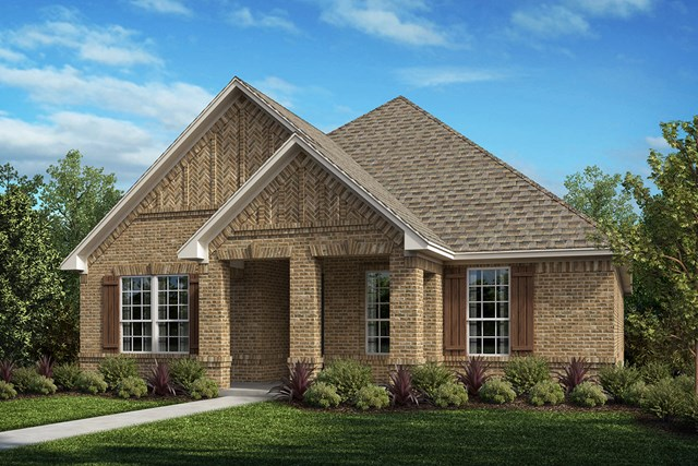 New Homes in Frisco, TX - Plan 1833 Elevation A