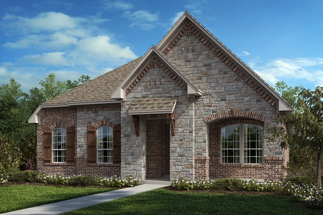 New Homes in Frisco, TX - Plan 2217 Elevation C