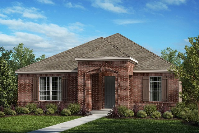 New Homes in Frisco, TX - Plan 2217 Elevation D